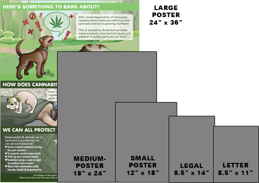 Paper Size Printing Choices - Large Poster