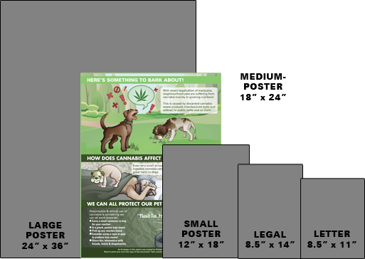 Paper Size Printing Choices - Medium Poster